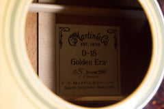 2012 Martin D-18 GE Golden Era 1934 Acoustic Guitar
