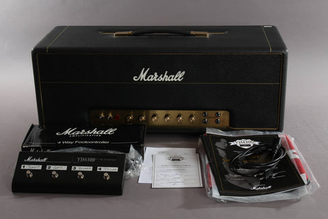 2011 Marshall YJM100 Yngwie Malmsteen Signature 100-Watt Tube Guitar Amp Head