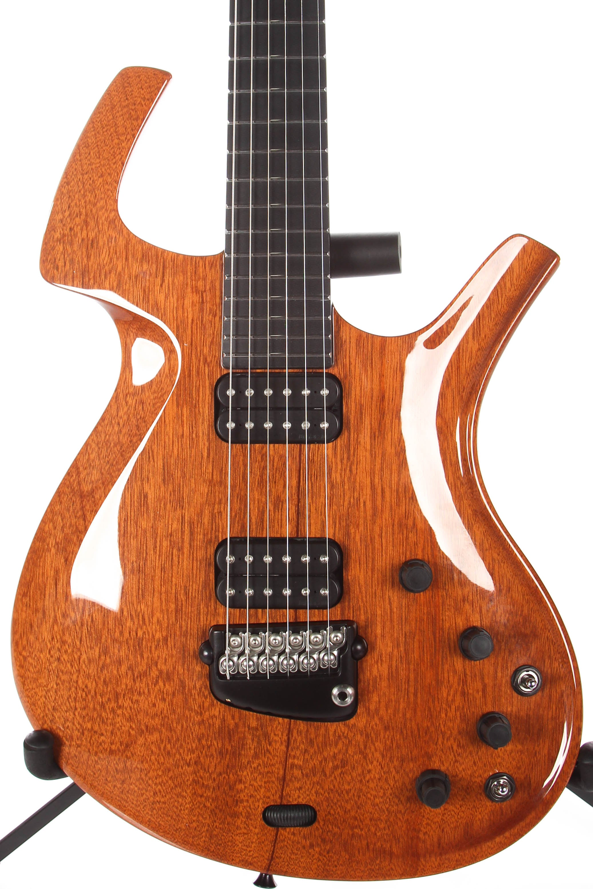 2001 Parker Fly Classic Natural Mahogany Pre Refined