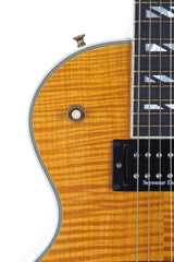 2005 Gibson Les Paul Supreme Trans Amber Flame Top