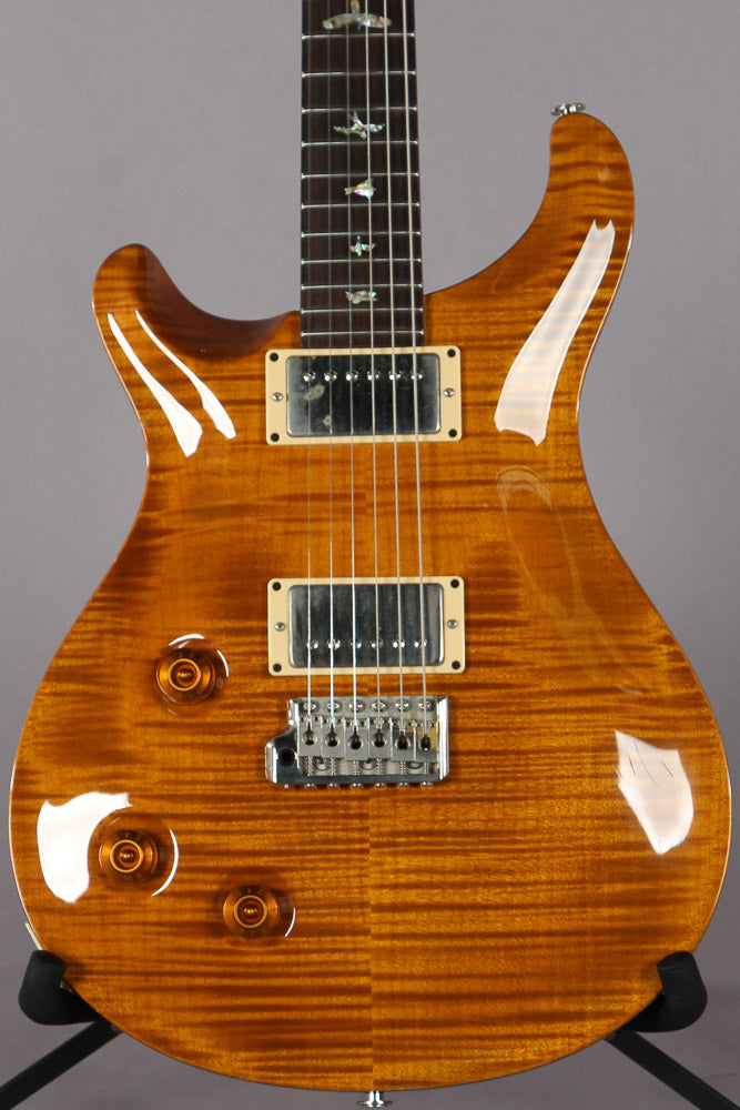 2003 PRS Paul Reed Smith Custom 22 Left Handed Violin Amber 10 Top Lefty