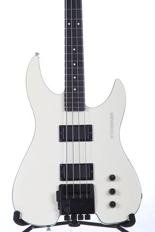 1988 Steinberger XM2 Bass Guitar White