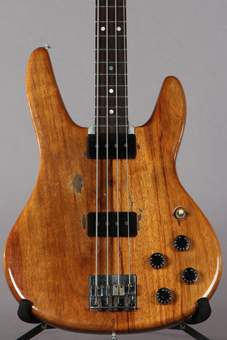 1975 Travis Bean TB2000 KOA Aluminum Neck Bass Guitar #253