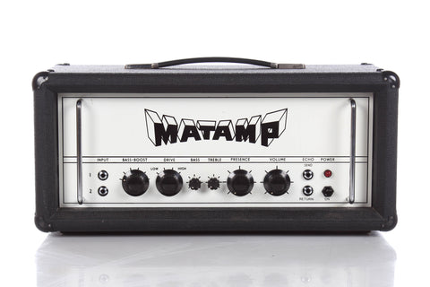 1972 Matamp GT100 Tube Guitar Head -RARE-