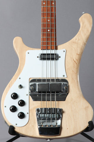 1996 Left-handed Rickenbacker 4001v63 Maplglo Bass Guitar