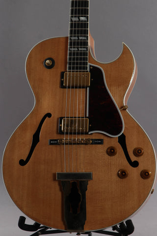 1989 Gibson L4-CES Archtop Guitar Natural ~James Hutchins~