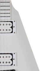 2013 Gibson Flying V Brendan Small Metalocalypse White Snow Falcon
