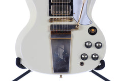 1999 Gibson Custom Shop Les Paul SG Custom 3 Pickup Lyre Tremolo