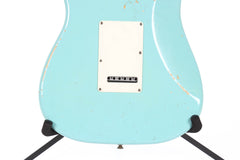 2012 Fender Custom Shop Stratocaster Pro Relic Daphne Blue -56 BODY STYLE-