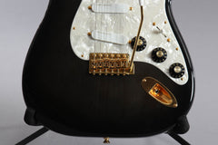 1996 Fender Limited Edition 50th Anniversary Ventures Stratocaster Transparent Black