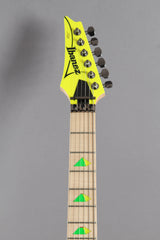 2017 Left Handed Ibanez Jem 777 30th Anniversary Desert Sun Yellow Electric Guitar