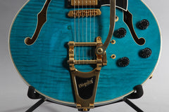 2001 Heritage Guitars H-555 Blue