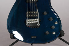 1998 Parker Fly Deluxe Trans Blue Mahogany Top -PRE REFINED-