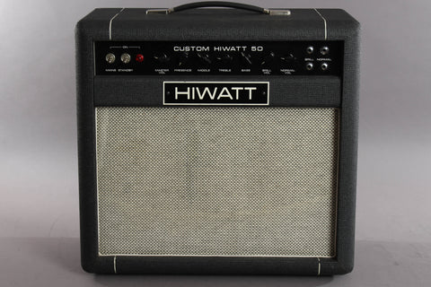 1994 Hiwatt Custom 50 SA112 1x12 Tube Combo Amp ~Audio Brothers Era~