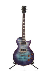 2017 Gibson Les Paul Standard T Blueberry Burst Flame Top