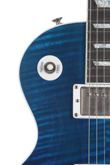 2004 Gibson Les Paul Standard Limited Edition Manhattan Midnight Blue