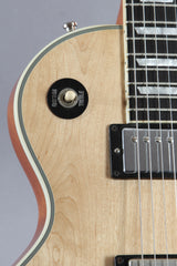 2014 Gibson Les Paul Custom Classic Natural Flower Pot Inlay