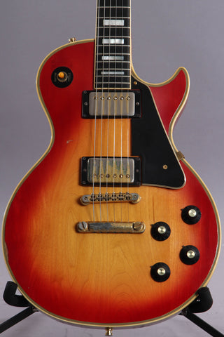 1974 Gibson Les Paul Custom Cherry Sunburst ~Headstock Repair~