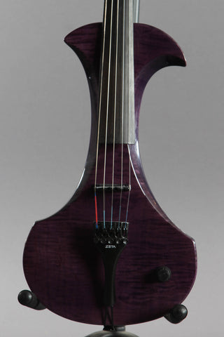 Zeta Strados 5-String Electric Violin Trans Purple
