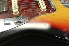 1965 Fender Jaguar Three Tone Sunburst