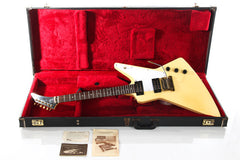 1983 Gibson Explorer White with Factory Gibson Kahler