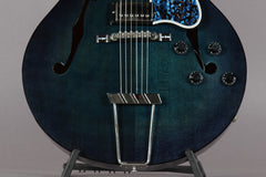 1997 Gibson Custom Shop L-5 Studio Translucent Blue Burst