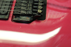 1989 Fender HM Heavy Metal Stratocaster Raspberry Made In USA
