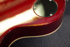 2001 Gibson Custom Shop Les Paul Class 5 Cranberry Red Flame Top