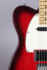 1999 Fender Telecaster Plus Version 1 Tele Crimson Burst