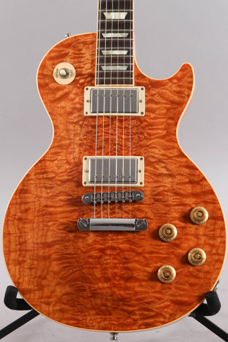 2011 Gibson Les Paul Standard Premium Plus Trans Amber AAA Quilt Top
