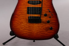 2016 Sadowsky NYC S-Style Dark Cherry Burst Quilt Top