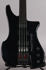 1996 Phillip Kubicki Factor 4 String Fretless Midnight Blue Metallic