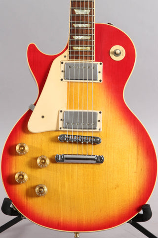 1993 Left Handed Gibson Les Paul Standard Heritage Cherry Sunburst ~Headstock Repair~