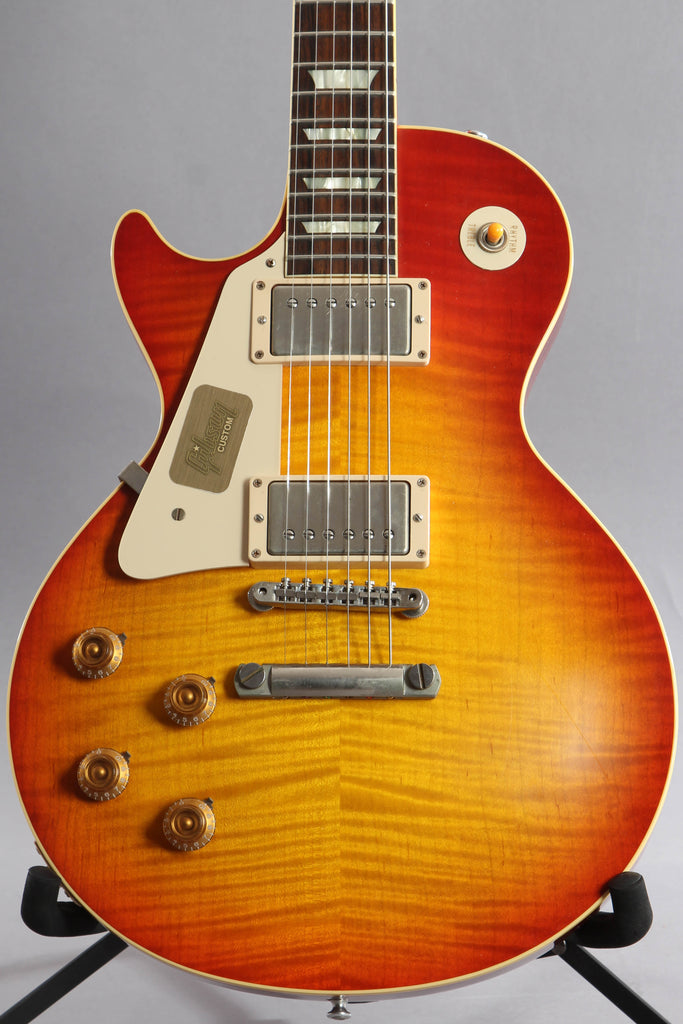 2013 Left Handed Gibson Custom Shop Les Paul 1959 Historic '59 Reissue R9