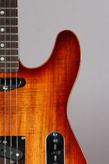 2012 Fender American Select Telecaster Carved KOA Top Tele