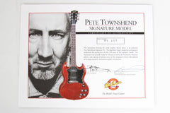 Gibson Custom Shop Pete Townshend SG Special VOS #157/200