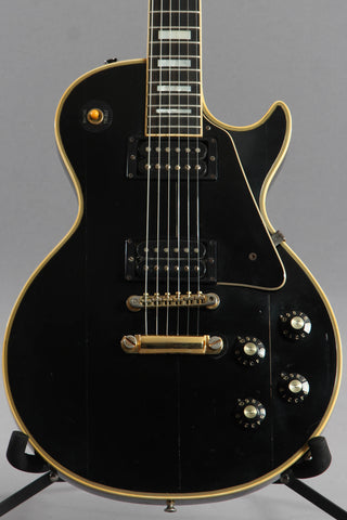 1973 Gibson Les Paul Custom Ebony Black