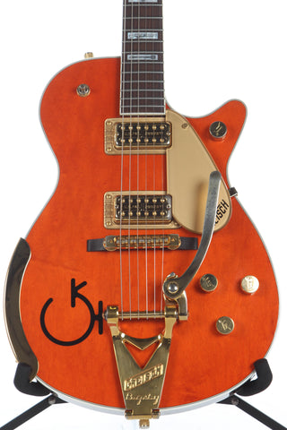 1999 Gretsch 6121 Roundup Western Orange