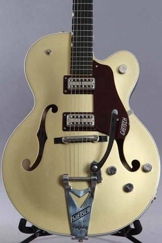 2018 Gretsch G6118T-135 LTD 135th Anniversary 2-Tone Casino Gold Dark Cherry Metallic