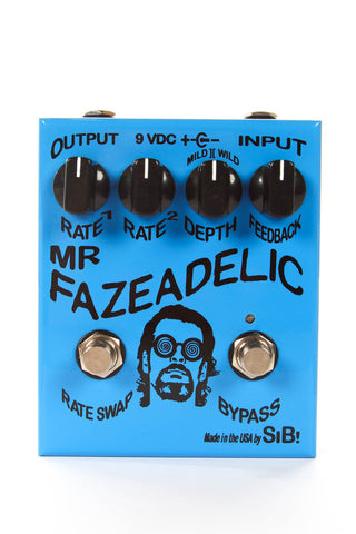 SiB Mr. Fazeadelic 4 Stage Optical Phase Shifter Guitar Effects Pedal