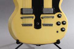 1974 Gibson EDS-1275 Sg Double Neck Electric Guitar White ~Video Of Guitar~