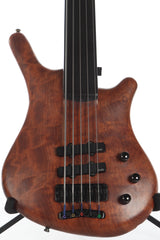 1989 Warwick Thumb Neck Thru NT 5 String Fretless Bass Guitar -RARE-