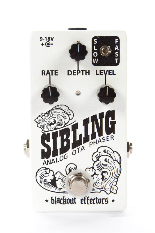 Blackout Effectors Sibling Analog OTA Phaser