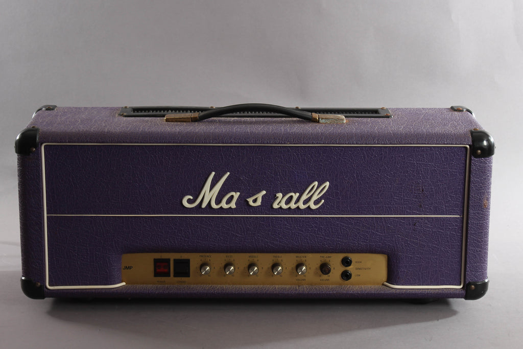 1978 Marshall JMP 2203 MK2 100 Watt Tube Head