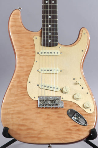 2019 Fender Rarities Quilt Maple Top Stratocaster Natural with Rosewood Neck
