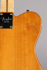 2012 Fender American Select Telecaster Carved Maple Top Amber Tele