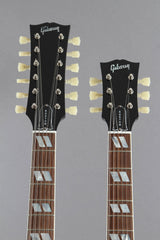2008 Gibson Custom Shop EDS-1275 Sg Double Neck Electric Guitar Ebony Black