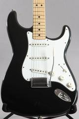 1974 Fender Stratocaster Custom Color Black ~Video Of Guitar~