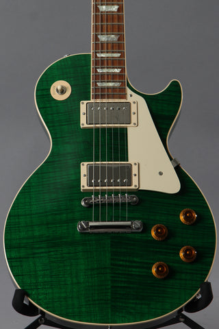 2016 Gibson Custom Shop Les Paul Custom Pro Transparent Green