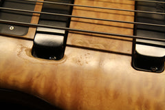 1995 Alembic Epic 5-String Bass Guitar Maple Quilt Top